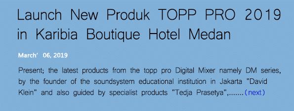 kategori album event&galery launch new produk Dm series